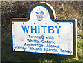 NZ8712 : Whitby, twinned with Tonga by Pauline E