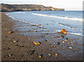 NZ8612 : Ebb tide, Sandsend by Pauline E