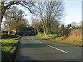 SJ8470 : B5392 entering Siddington by Peter Whatley