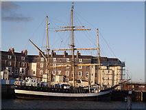 SY6878 : Tall Ship at Weymouth by Colin Smith