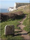 SY8080 : South West Coast Path, Durdle Door by Colin Smith