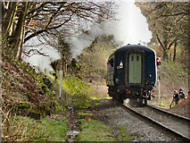 SD7914 : East Lancashire Railway, Higher Summerseat by David Dixon