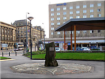 SE1632 : City Centre Park; Lynch memorial by Stephen Craven