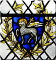 SY5590 : Agnus Dei, St Mary's Church by Maigheach-gheal