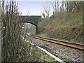 SS8986 : Bridge Over a Single Track Railway by Guy Butler-Madden