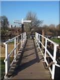 SO8453 : Junction of the River Severn and Canal by Philip Halling