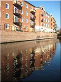 SO8554 : New canalside apartments by Philip Halling