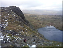NY2807 : Pavey Ark and Stickle Tarn by Alan O'Dowd