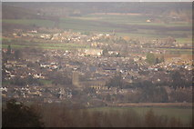 SP0228 : Winchcombe viewed from near Belas Knap by Roger Davies