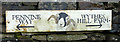 NY9222 : Pennine Way sign at Wythes Hill Farm by Karl and Ali