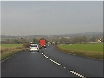SJ6925 : The Chester Road descends towards Hinstock by Peter Whatley