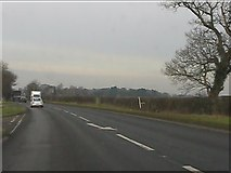 SJ6629 : A41 at Chapel Bank by Peter Whatley