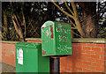 J3569 : Drop box, Belfast by Albert Bridge