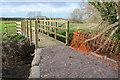 SO8821 : New footbridge over Norman's Brook by Philip Halling
