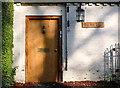 SZ1195 : Old Village School Door by Nigel Mykura