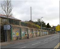 SS9497 : Pen-yr-englyn murals by Jaggery