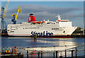 J3676 : The 'Stena Europe' at Belfast by Rossographer