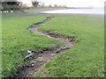 SP9113 : The dry stream bed feeding Startops Reservoir by Chris Reynolds