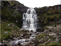NY8407 : Bleaberry Force by Colin Gregory