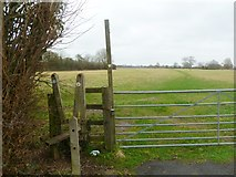 ST9102 : Spetisbury, stile by Mike Faherty