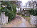 TM2751 : The entrance to Foxborough Hall by Adrian Cable