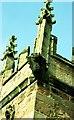 SJ4847 : Gargoyle on St Oswald's Church, Malpas by Jeff Buck