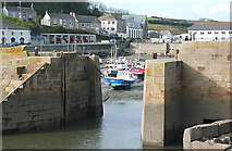SW6225 : Porthleven harbour by Graham Horn