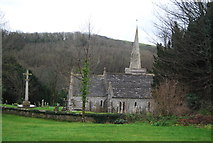 SY5889 : War Memorial and Church of St Michael and All Angels by N Chadwick