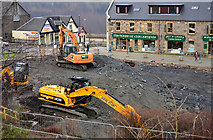 NN1073 : Building site - Fort William by The Carlisle Kid