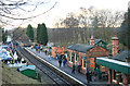 SK5612 : Rothley Station by Chris Allen