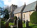 ST0674 : Grade lI listed Church of St Mary the Virgin, Bonvilston by Jaggery