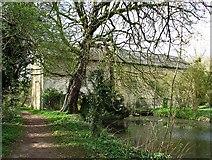 TL4352 : Nearing Hauxton Mill by John Sutton