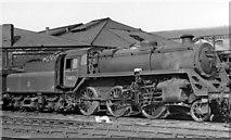 NZ4057 : BR Standard 4MT 2-6-0 at Sunderland Locomotive Depot by Ben Brooksbank