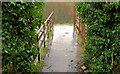 J2764 : Footbridge, Lisburn/Hilden (3) by Albert Bridge
