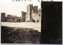 SO5074 : Ludlow Castle by Ethel Tiller 1885-1946