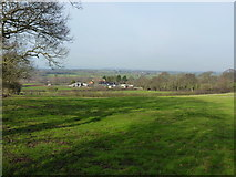 SJ4607 : Across fields towards Lythwood View by Richard Law