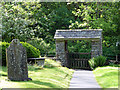 NY4102 : Lychgate, Jesus Church, Troutbeck, Cumbria by Christine Matthews