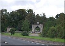 NS3586 : Gateway of Rossdhu House by N Chadwick
