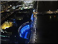 TQ3079 : County Hall from London Eye by night by David Hawgood