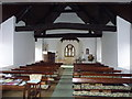 SJ4406 : St Ruthen church interior by Richard Law