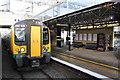 SP8437 : An emu in Platform 2, Milton Keynes Central station by Roger Templeman