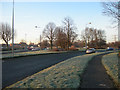 SJ6288 : Kingsway Roundabout by Mike Lyne