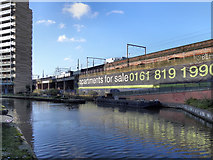 SJ8297 : Bridgewater Canal, St George's Island by David Dixon
