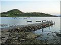 NR7387 : Carsaig jetty by Bob Jones