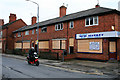 SK5236 : Houses and shop due for demolition by David Lally