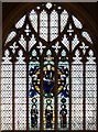 TQ4284 : St Barnabas, Browning Road, Manor Park - Stained glass window by John Salmon