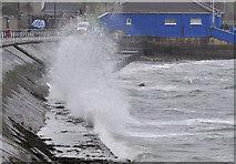 J4791 : Rough sea, Whitehead (2) by Albert Bridge