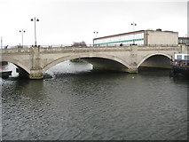 TL1998 : Peterborough: The Town Bridge by Nigel Cox