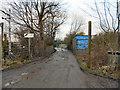 SJ7693 : Entrance to Barrowfield Farm by David Dixon