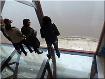 SD3036 : Blackpool: on the glass floor of the Tower by Chris Downer